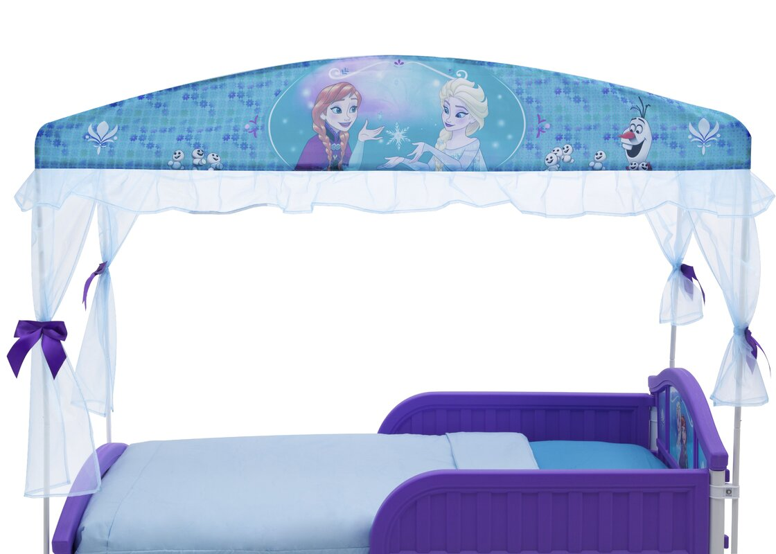 Disney Frozen Toddler Bed  sc 1 st  Wayfair & Delta Children Disney Frozen Toddler Bed u0026 Reviews | Wayfair