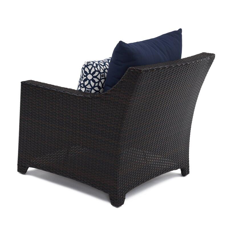Sunbrella Navy Loveseat: Northridge 8 Piece Sunbrella Sofa Set With Cushions