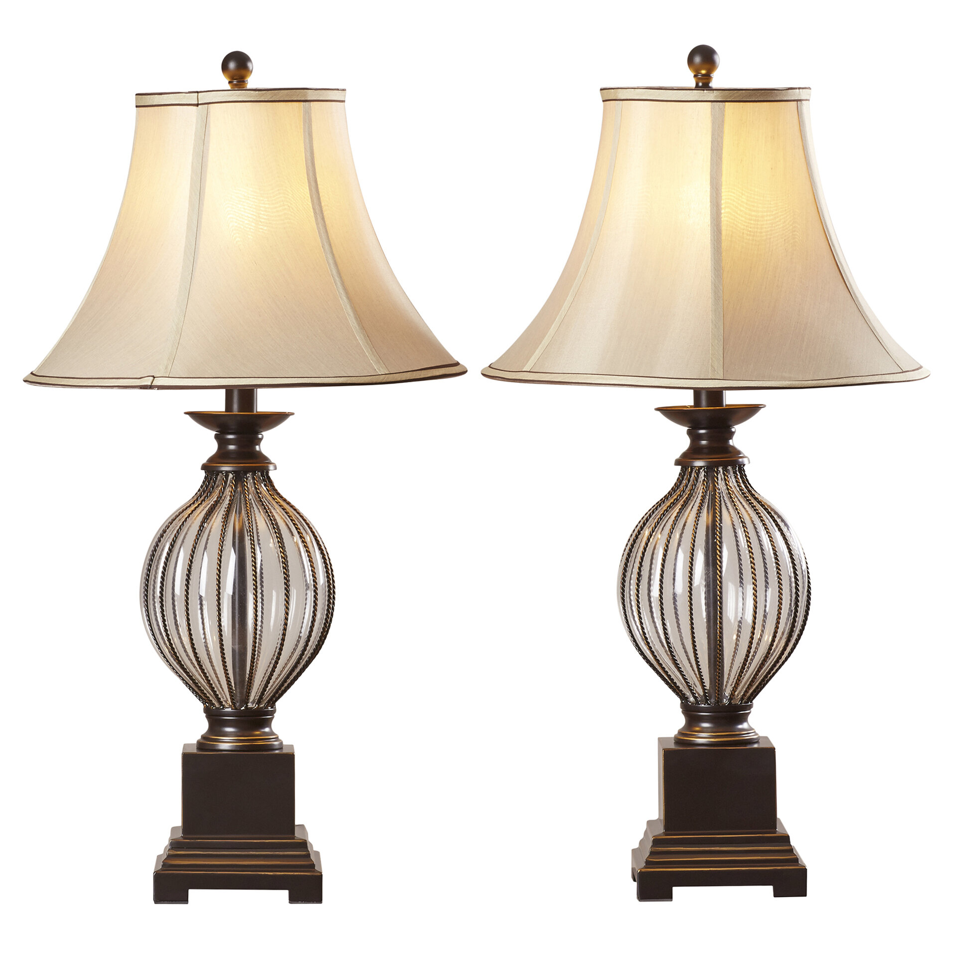 Table Lamps Joss Main Lights B Goes To The Next Ceiling Light C Switch Ontario 31 Lamp Set Of 2