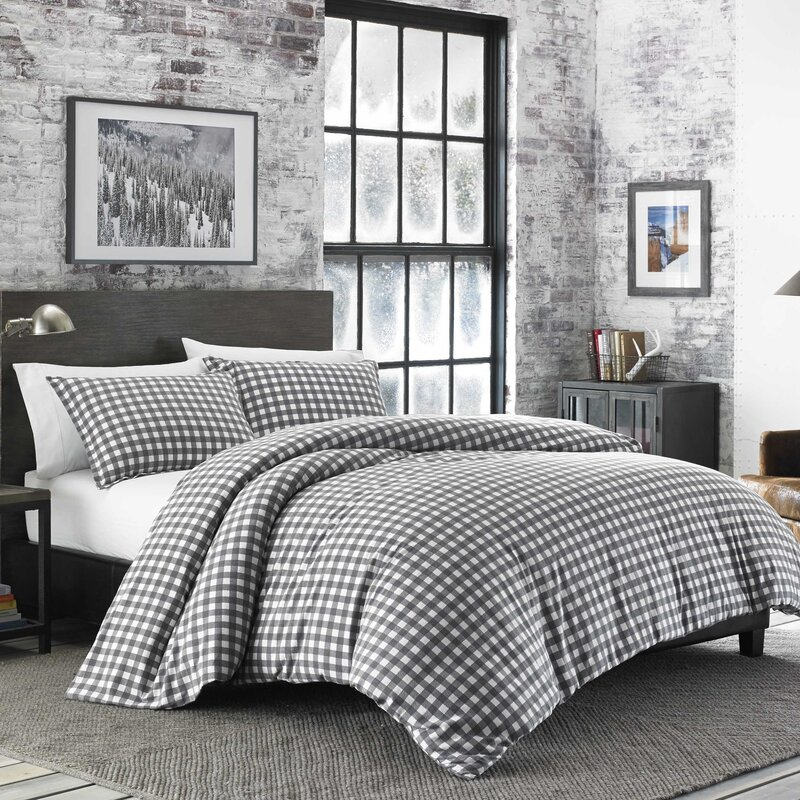 gray designs white duvet check cover large buffalo french and carousel