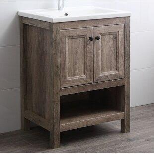 Nicholle 24 Single Bathroom Vanity Set By Union Rustic