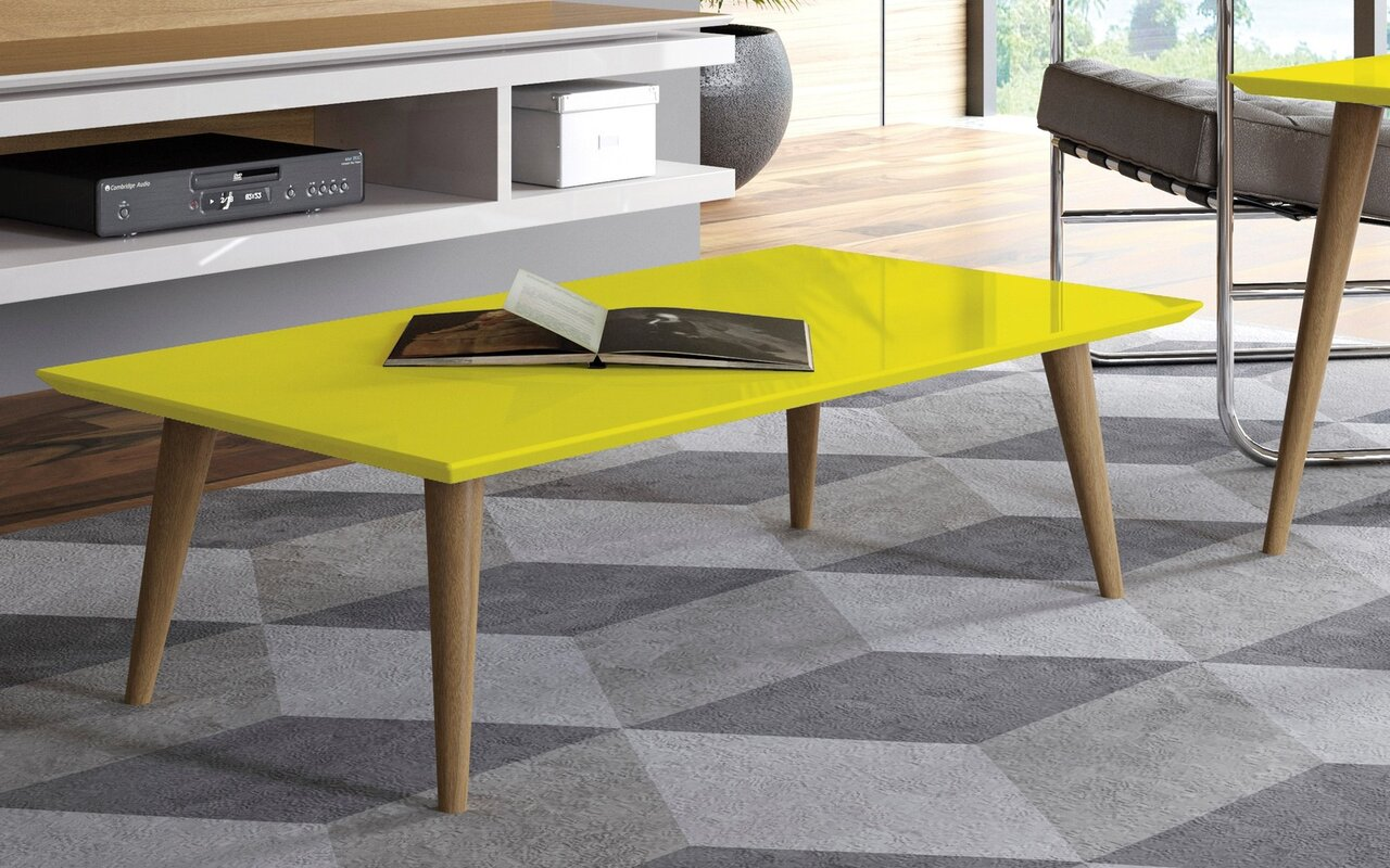 George oliver lemington rectangle coffee table with splayed legs lemington rectangle coffee table with splayed legs geotapseo Gallery