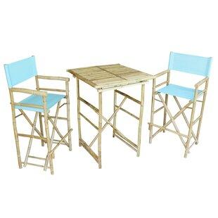 Kalel 3 Piece Pub Table Set