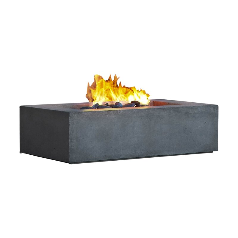 Awesome Baltic Natural Gas Fire Pit Table