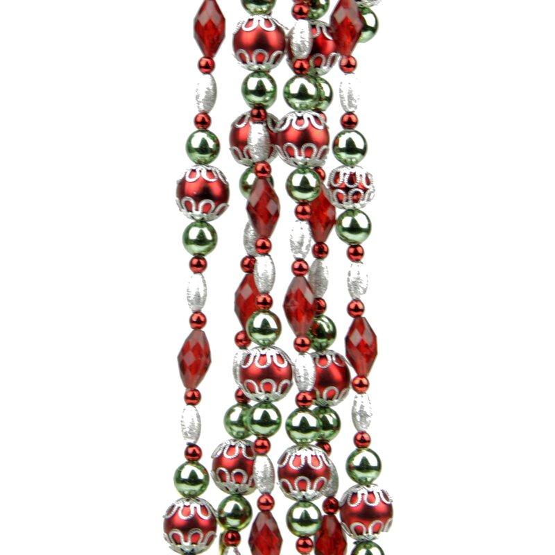 dazzling diva beaded christmas garland - Christmas Bead Garland