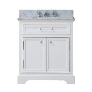 24 White Bathroom Vanity 24 inch bathroom vanities you'll love | wayfair