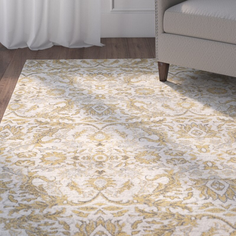 Sagebrush Ivory Gold Area Rug