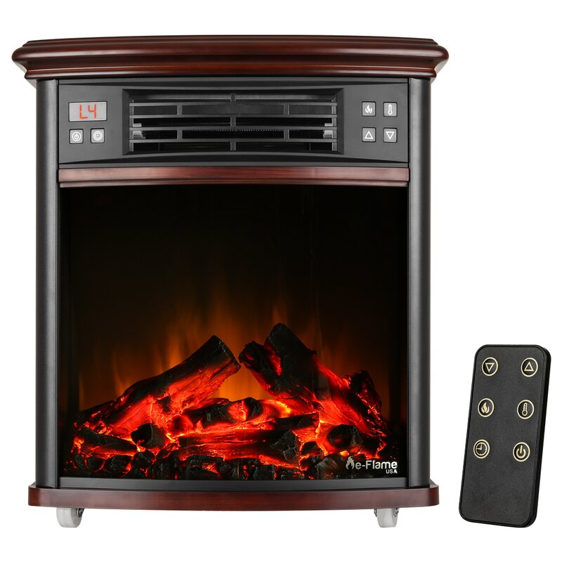 E Flame Portable Electric Fireplace Insert Wayfair