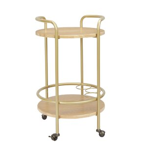 Rimer Round Bar Cart