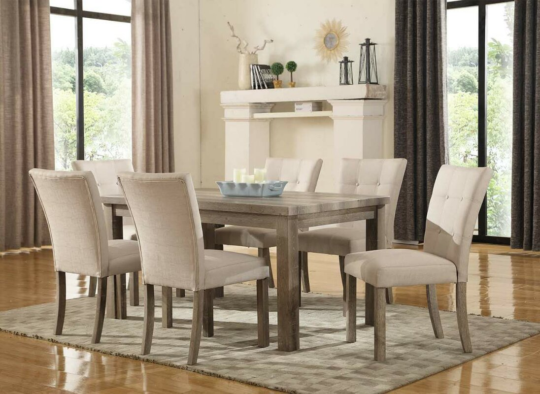 Ultimate Accents Urban 7 Piece Dining Set & Reviews | Wayfair