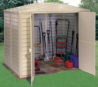 Duramax Building Products DuraMate 8 Ft. W X 6 Ft. D Plastic Storage Shed