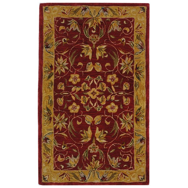 Burgundy Carpet Bedroom Small Bedroom Cupboards Designs Bedroom Chandeliers Next Cream Bedroom Chairs: Safavieh Anatolia Burgundy/Gold Area Rug & Reviews