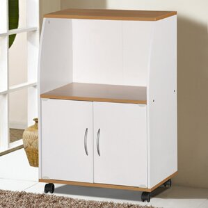Russellton Microwave Cart by Andover M..