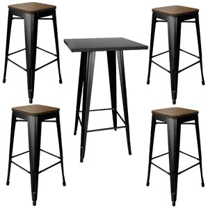 morgan 5piece pub table set