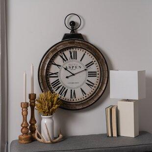 163e667a2 Roman Numeral Clocks You'll Love | Wayfair