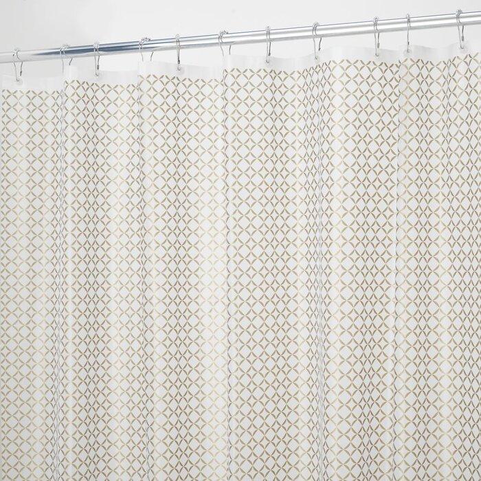 Confetti Vinyl Shower Curtain Liner