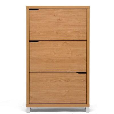 Brayden Studio Cade Modern 18-Pair Shoe Storage Cabinet