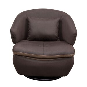 Rio Swivel Barrel Chair by Diamond Sofa