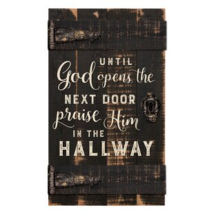 Barn Door Until Opens The Next Wall Décor