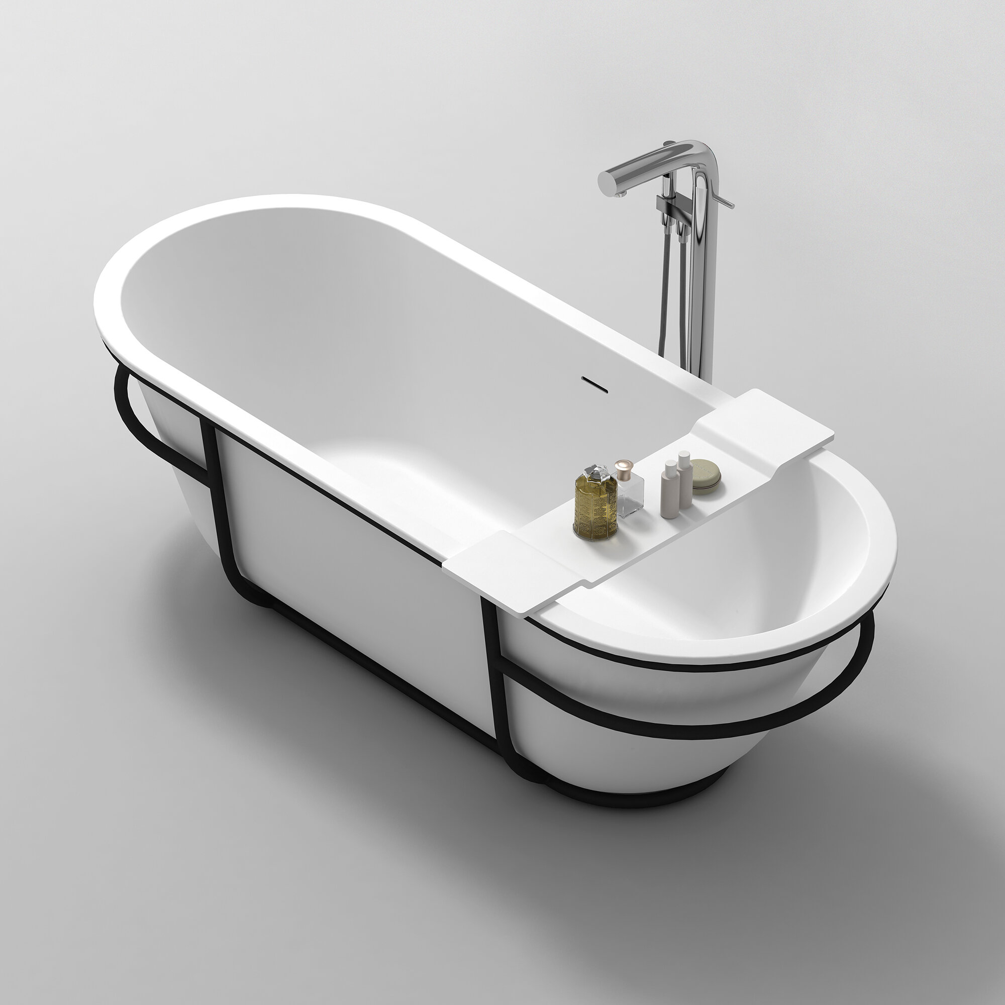 Dina Stone Bath Caddy