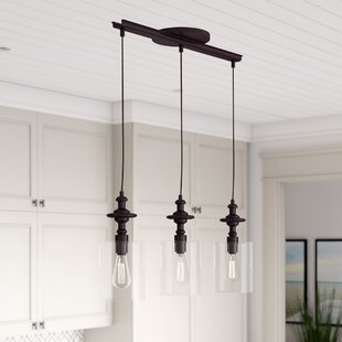 Humphries 3 Light Kitchen Island Pendant