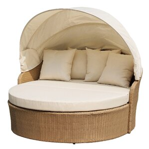 Earth Outdoor Canopy Daybed with Mattr..