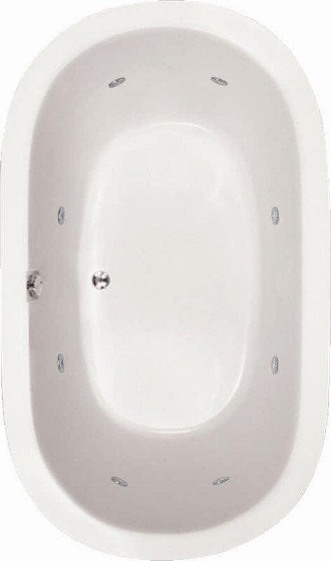"Designer Lorraine 60"" x 42"" Soaking Bathtub"