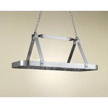 sterling rectangular hanging pot rack