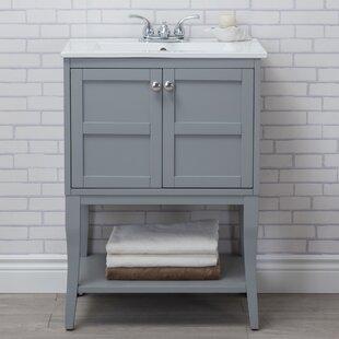 Antique Silver Bathroom Vanity   Wayfair