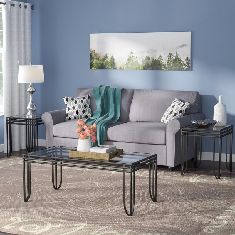 Table Sets For Living Room: Winston Porter Myra 3 Piece Coffee Table Set & Reviews