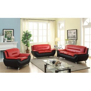 Giovani 3 Piece Living Room Set