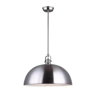 Antique silver pendant light wayfair save aloadofball Gallery
