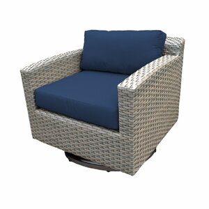Florence Swivel Chair with Cushions