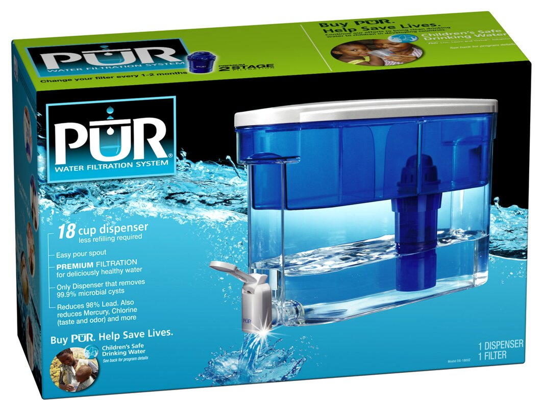 Water Filtration Dispenser Pur Two Stage Filtration Water Dispenser Reviews Wayfair