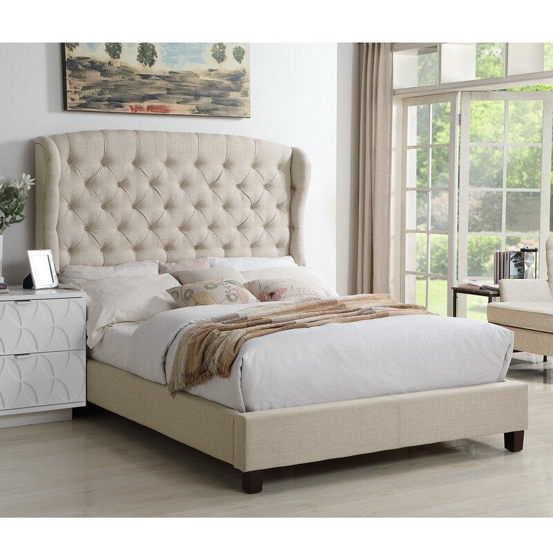 Felisa Upholstered Panel Bed King