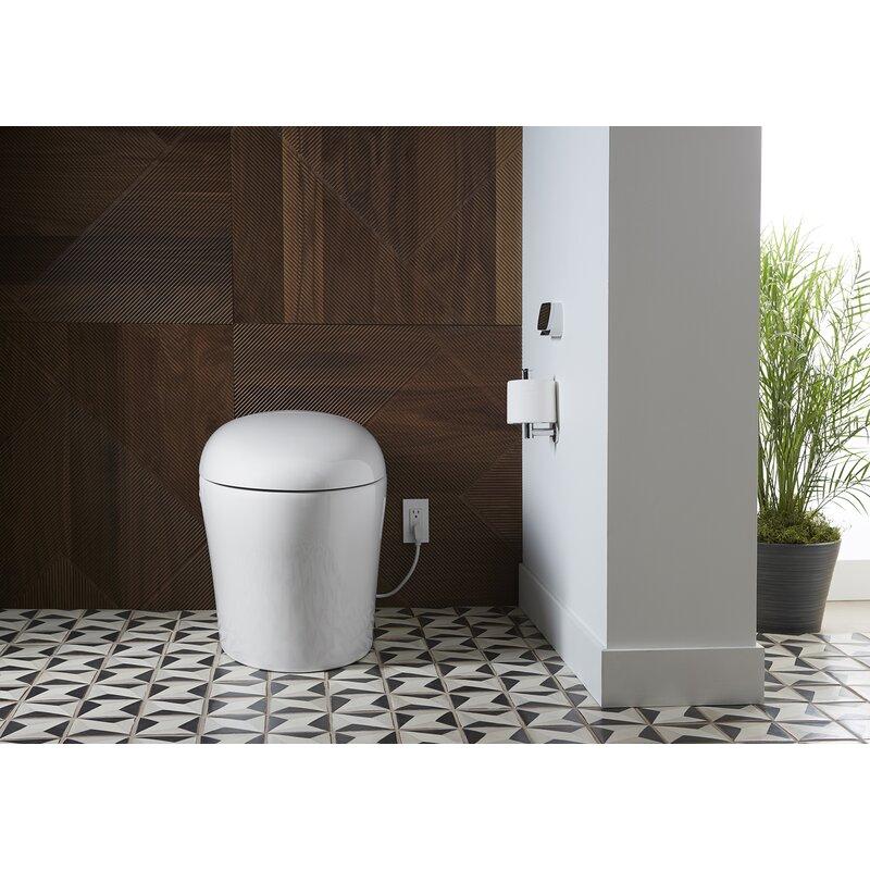 Kohler Karing 2 0 Intelligent Skirted One Piece Elongated Toilet