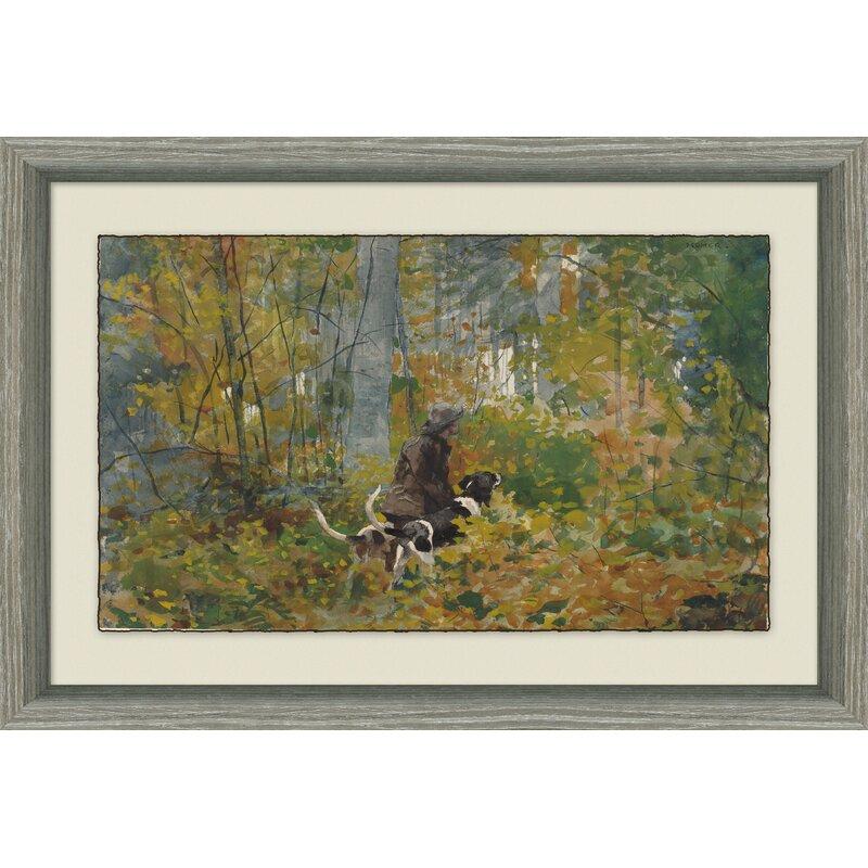 Finn & Ivy \'October Duck Hunting\' Framed Print | Wayfair