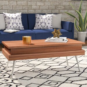 Cornelia Coffee Table with Lift Top by Wade Logan