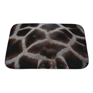 Animals Skin Of Giraffe Bath Rug
