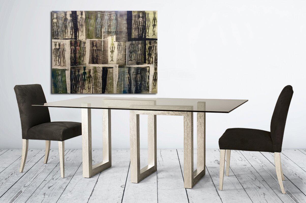 Reesa Rectangular Dining Table & Orren Ellis Reesa Rectangular Dining Table \u0026 Reviews | Wayfair