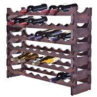 48 Bottle Floor Wine Bottle Rack