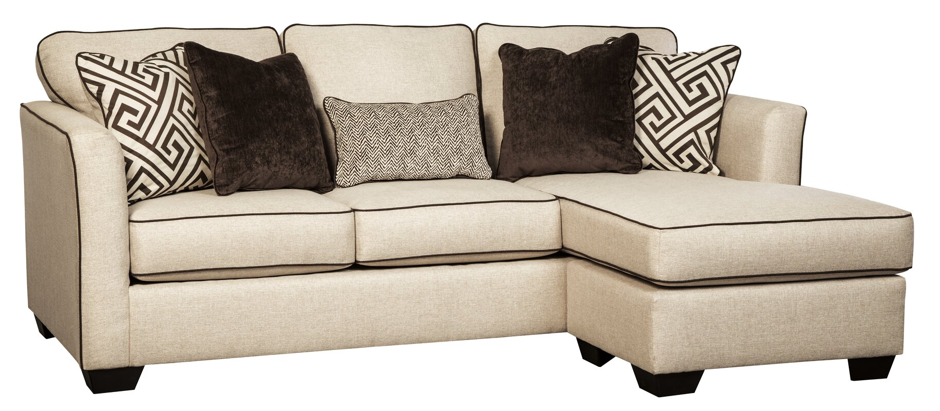 carlinworth sofa chaise reviews birch lane. Black Bedroom Furniture Sets. Home Design Ideas