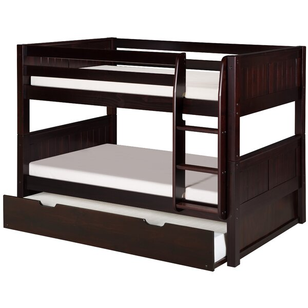 Viv Rae Isabelle Low Twin Over Twin Bunk Bed With