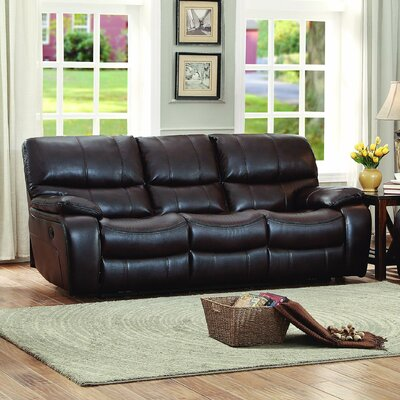 Brown Leather Reclining Loveseats Amp Sofas You Ll Love In