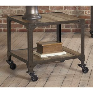 Industrial Age End Table by Largo