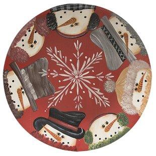 Snowman Border Decorative Plate  sc 1 st  Wayfair & Decorative Plate Rack | Wayfair