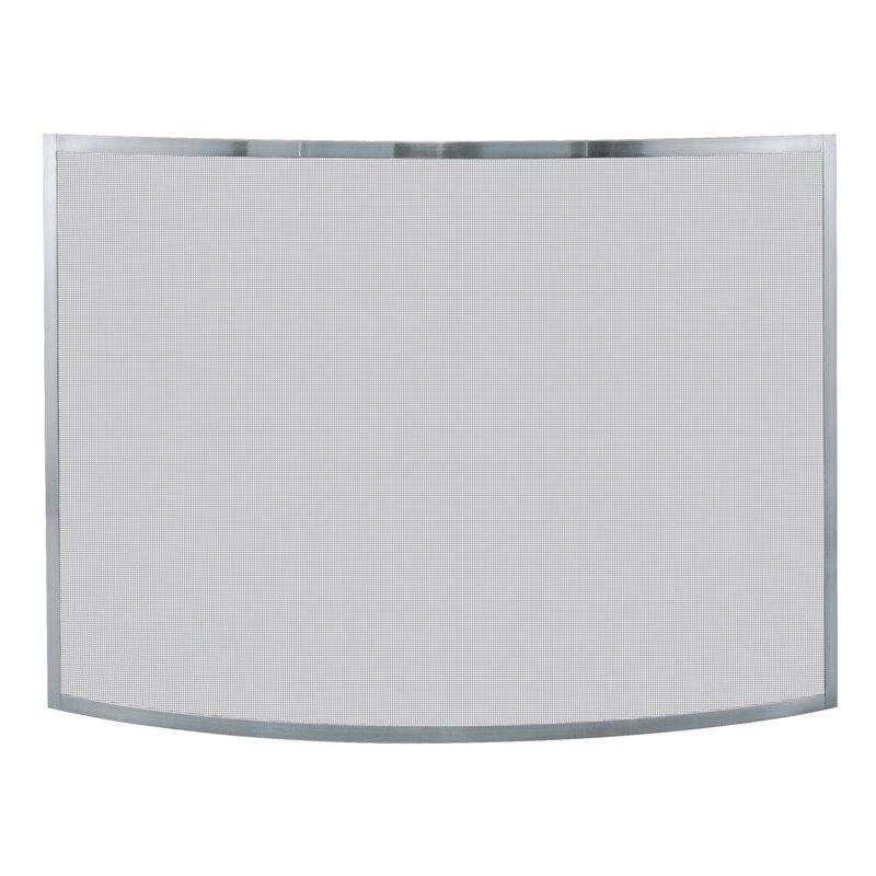 uniflame fireplace screen fold uniflame panel iron fireplace screen blue rhino reviews wayfair