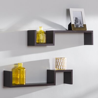 Mount Intersecting Wall Shelf & Reviews | Birch Lane