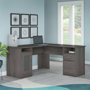 two desk home office. Hillsdale L-Shaped Executive Desk Two Home Office U