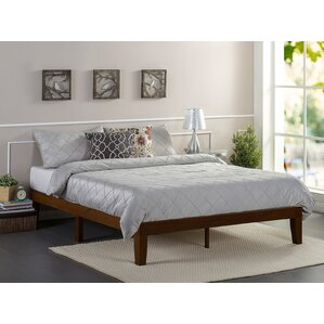 Hullinger Solid Wood Platform Bed by Winston Porter